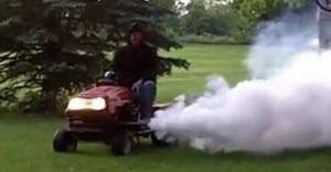 mower mosquito fogger